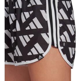 "adidas Celeb Marathon 20 Run Shorts 4"" Women, zwart/wit"